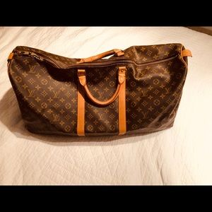 Louis Vuitton Travel Bag 60""